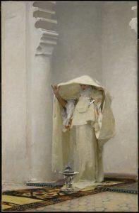 John Singer Sargent, Fumée d'ambre gris (Smoke of Ambergris) 1880