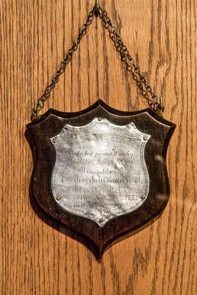 1888 Prescott Rodeo Trophy